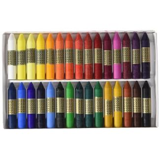 Manley 130 - Ceras blandas, caja de 30 colores