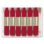 Lápices cera Manley unicolor color carmin permanente caja de 12 Nº 10