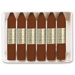 Manley 29 - Ceras blandas, caja de 12 unidades, color pardo