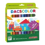 Lapices cera dacscolor caja de 24 colores