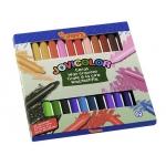 Lapices cera jovicolor caja de 12 colores