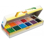 Lápices cera jovicolor caja de con 300 lápices color surtidos
