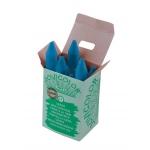 Lápices cera jovicolor unicolor color azul claro caja de 12