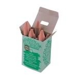 Lápices cera jovicolor unicolor color carne caja de 12