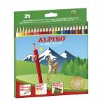 Alpino 658 - Lápices de colores, caja de 24 colores