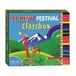 Alpino Festival Classbox C0131992- Lápices de colores, caja de 288 colores