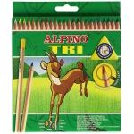 Alpino Tri AL000129 - Lápices de colores, caja de 24 colores