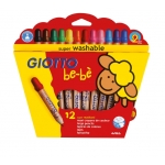 Giotto Bebe 469700 - Lápices de colores, caja de 12 colores
