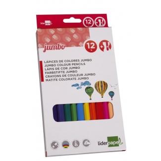 Liderpapel Lapices De Colores Caja De 12 Colores