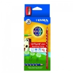 Lyra Groove Slim 2821120 - Lápices de colores, caja de 12 colores