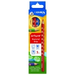 Lyra Groove 3811050 - Lápices de colores, caja de 5 colores