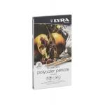 Lapices de colores Lyra rembrandt polycolor caja metálica 12 colores surtidos