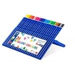 Staedtler Ergosoft 156SB24 - Lápices de colores acuarelables, caja de 24 colores