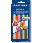 Staedtler Noris Club Slim 127NC12 - Lápices de colores, caja de 12 colores