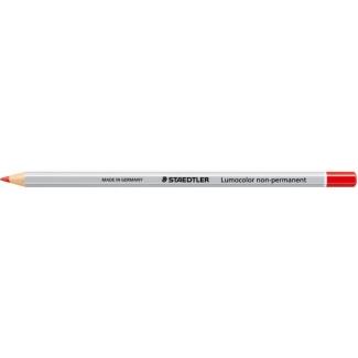 Staedtler Mars Omnicrom 1082 - Lápiz de grafito, color rojo