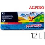 Lapices de colores masats acuarelables caja de 12 unidades