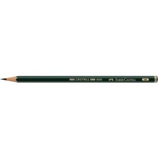 Faber-Castell 9000 - Lápiz de grafito, 8B