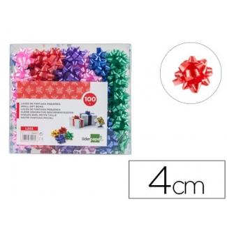 Liderpapel LZ02 - Lazo para regalo, tamaño pequeño, colores surtidos pastel