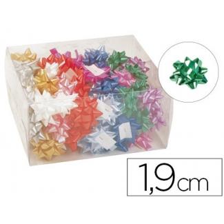 Liderpapel 1300 - Lazo para regalo, 19 mm, colores surtidos