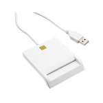 Lector de dni-e usb 2.0 color blanco