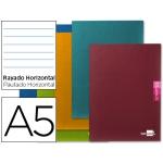 Libreta Liderpapel scriptus tamaño A5 plus 48 hoj 90 gr/m2 horizontalcon margen