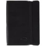 Liderpapel LG02 - Libreta encolada, tapa símil piel, tamaño A7, 120 hojas de 70 gr, cuadrícula de 4 mm, sin margen, color negro