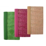 Libreta Liderpapel simil piel papel crema 70 gr 142 hojas 14,2x11,5 cm 3 colores surtidosunidad