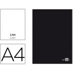 Libreta Liderpapel tapa negra tamaño A4 80 hojas 60 gr/m2 liso sin margen