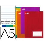 Libreta Liderpapel write tamaño A5 32 hojas 60 gr/m2 horizontal con margen