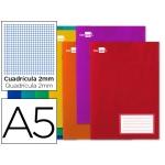 Libreta Liderpapel write tamaño A5 32 hojas 60 gr/m2 milimetrado con margen