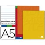 Libreta Liderpapel write tamaño A5 80 hojas 60 gr/m2 horizontal con margen