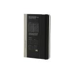 Libreta Moleskine tapa dura profesional 240 hojas listas desmontables tareas planning color negro 130x210 mm