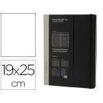 Libreta Moleskine tapa dura profesional 240 hojas listas desmontables tareas planning color negro 190x250 mm