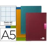 Libreta escolar Liderpapel scriptus 48h tamaño A5 rayado Nº 46 papel 90 gr colores surtidos