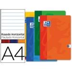 Libreta escolar Oxford 48 H tamaño A4 rayado horizontal colores surtidos