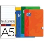 Libreta escolar Oxford 48 H tamaño A5 rayado horizontal colores surtidos