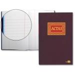 Liderpapel AT01 - Libro de actas, tamaño folio, 100 hojas
