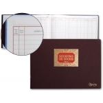 Libro Miquelrius Nº 13 tamaño folio apaisado 100 hojas registro de socios