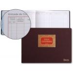 Libro Miquelrius Nº 42 tamaño folio apaisado 100 hojas entrada de correspondencia