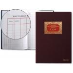 Libro Miquelrius Nº 64 tamaño folio 100 hojas facturas emitidas