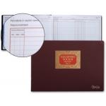 Libro Miquelrius Nº 76 tamaño folio apaisado 100 hojas registro de socios para s.r.l