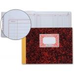 Miquelrius 3086 - Libro de cuentas corrientes, tamaño cuarto apaisado, 100 hojas