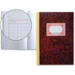 Libro Miquelrius cartóne tamaño folio 100 hojas cuentas corrientes debe haber y saldo