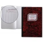 Libro Miquelrius cartóne tamaño folio 50 hojas registro de facturas recibidas-n 65