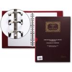 Libro Miquelrius tamaño A4 registro de contrato hojas movibles