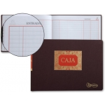 Libro Miquelrius tamaño cuarto apaisado 100 hojas caja de entrada y salida