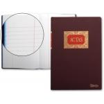 Miquelrius 4013 - Libro de actas, tamaño folio, 100 hojas