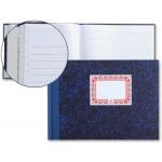 Libro cartóne tamaño cuarto apaisado 100 hojas horizontal