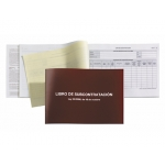 Miquelrius 5589 - Libro de subcontratación, gallego, tamaño A4 apaisado, 20 hojas
