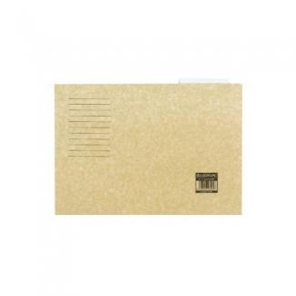 Liderpapel SF02 - Carpeta colgante, tamaño A4, visor superior, kraft